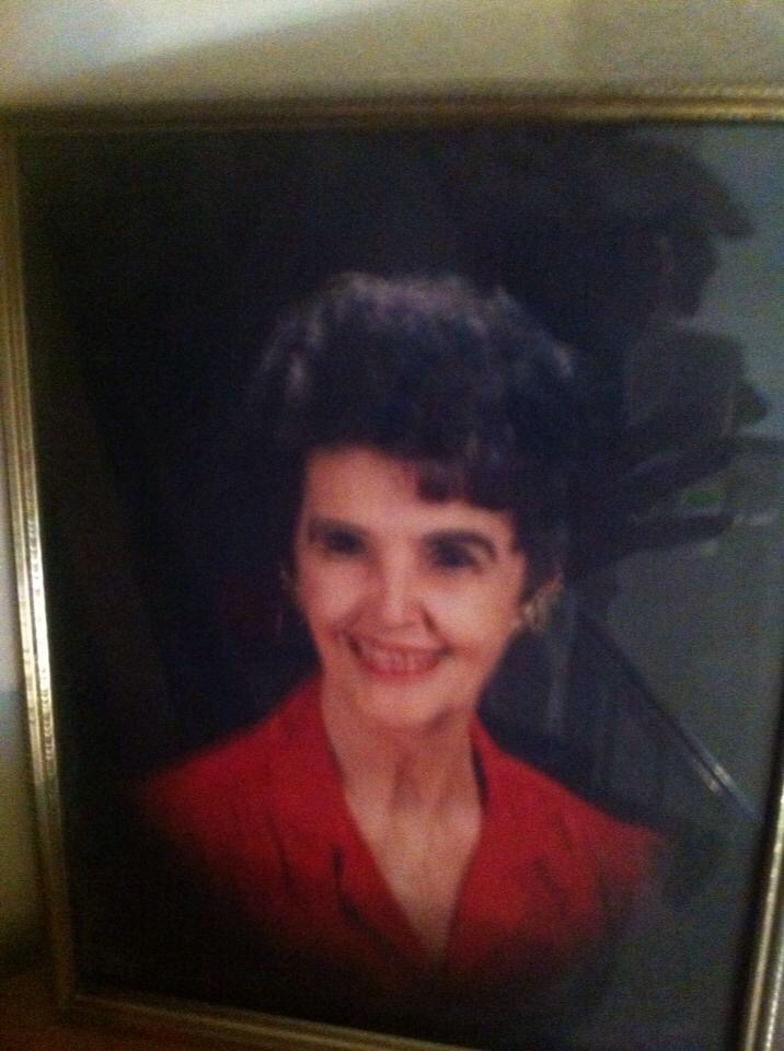My mother Lois Terry